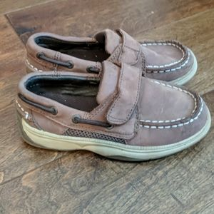 Toddler Boy Brown Sperry's - Size 10
